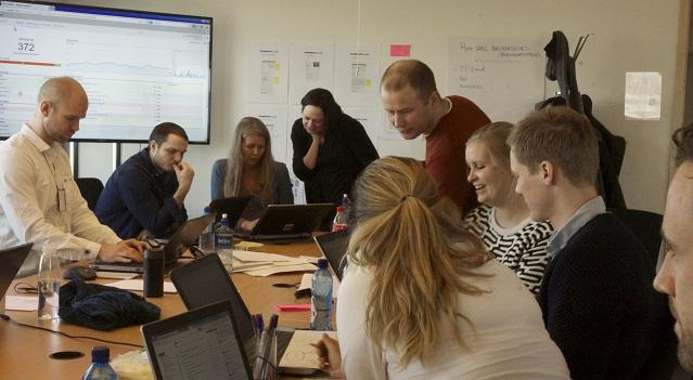 Samarbeid i webredaksjonen