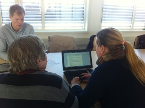Møte mellom boligkontoret i bydel Ullern og webredaktører.