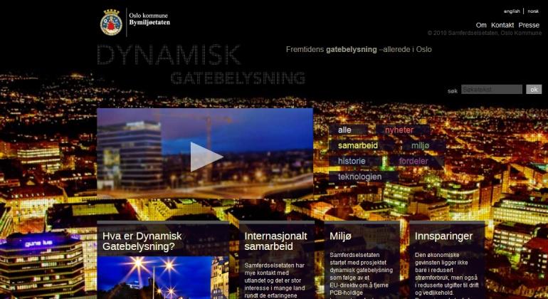 dynamiskgatebelysning